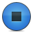 Blue, Button, Stop Icon