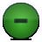 Button, Green, Minus Icon