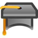 Education, Graduate, School, Webinar Icon