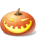 Halloween, Jack, Lantern, Laugh, Pumpkin Icon