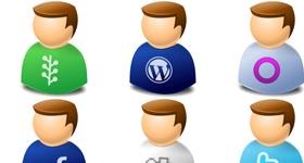 User Web 2.0 Icons