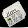 Newsletter, Newspaper Icon