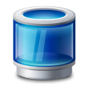 Bin, Blue, Recycle, Trash Icon