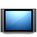 Flat, Monitor, Screen, Television, Tv Icon
