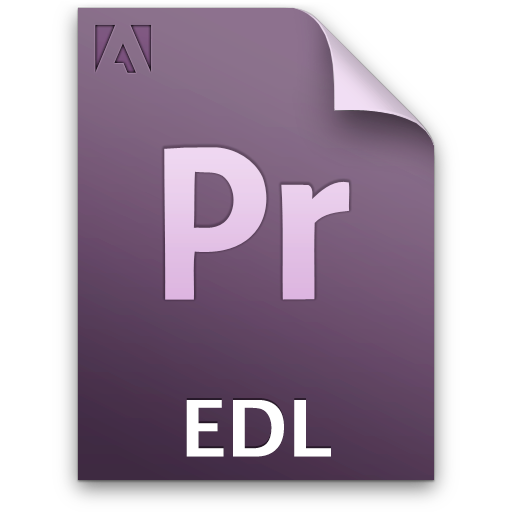 Document, Edl, File, Pr Icon