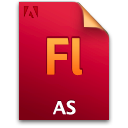 As, Document, File Icon
