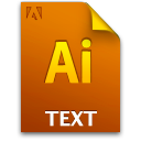Ai, Document, File, Textfile Icon