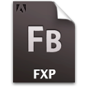 Document, Fb, File, Fxp Icon