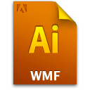 Ai, Document, File, Wmffile Icon