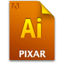 Ai, Document, File, Pixarfile Icon