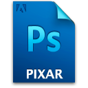 Document, File, Pixar, Ps Icon