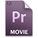 Document, File, Movie, Pr, Secondary Icon