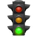 Go, Green, Light, Traffic Icon