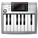 Keyboard, Midi, Music Icon