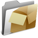 Box, Drop Icon