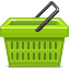 Basket, Buy, Ecommerce, Shopping Icon