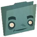 Blue, Folder Icon