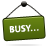 Busy, Sign Icon