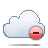 Cloud, Delete Icon