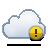 Alert, Cloud Icon