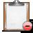 Clipboard, Delete Icon