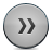 Button, Fastforward, Grey Icon