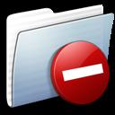 Folder, Graphite, Private, Stripped Icon