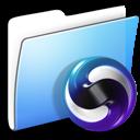Aqua, Folder, Smooth, Themes Icon