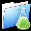 Aqua, Copy, Experiments, Folder, Stripped Icon