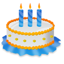 Birthday, Cake, Event, Party Icon