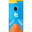 Rocket, Twitter Icon