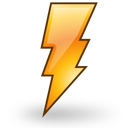 Lightning, Power, Weather Icon