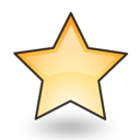 Emblem, New, Star Icon