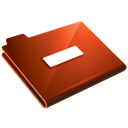 Folder, Minus, Red Icon