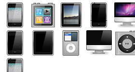 Apple Devices Icons
