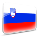 Flag, Slovenia Icon