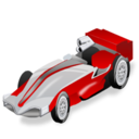 Car, Formula, Racing, Seater, Single, Sport Icon