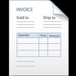 Bill, Factura, Invoice Icon