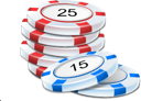 Casino, Chips, Game, Poker Icon