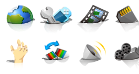 Drifting Icons