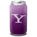 Drink, Texto, Web, Yahoo Icon