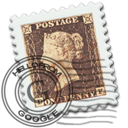 Email, England, Gmail, Stamp Icon
