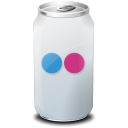 Drink, Flickr, Texto, Web Icon