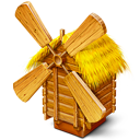 Grist, Mill, Windmill Icon