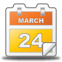 Calendar, Date, Event, March Icon