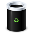 Bin, Empty, Garbage, Recycle Icon
