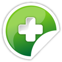 Add, Green Icon