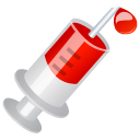 Blood, Injection Icon
