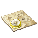 Map, Navigate Icon