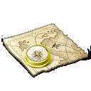 Map, Navigate Icon